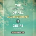 Starting Point of Achievement
