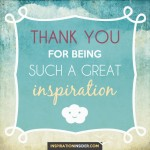 Thank You Inspiration