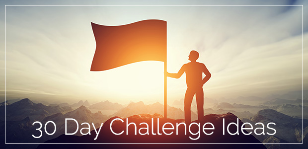 50 Inspiring 30 Day Challenge Ideas | @2inspiredaily